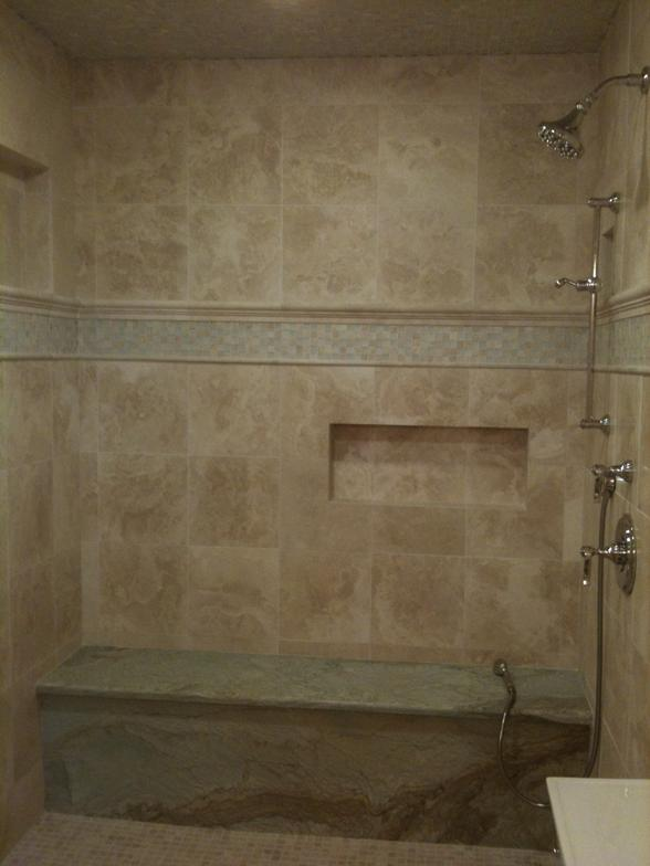 Natural Stone Showers http://travisspringer.intuitwebsites.com/